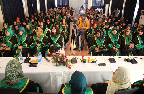 Afghanistan's female judges participate at a four-day conference in Kabul. Photo: Fardin Waezi / UNAMA