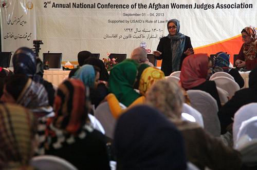Female judges' conference in Kabul. Photo: Fardin Waezi / UNAMA