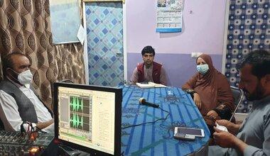 Radio debate in Logar
