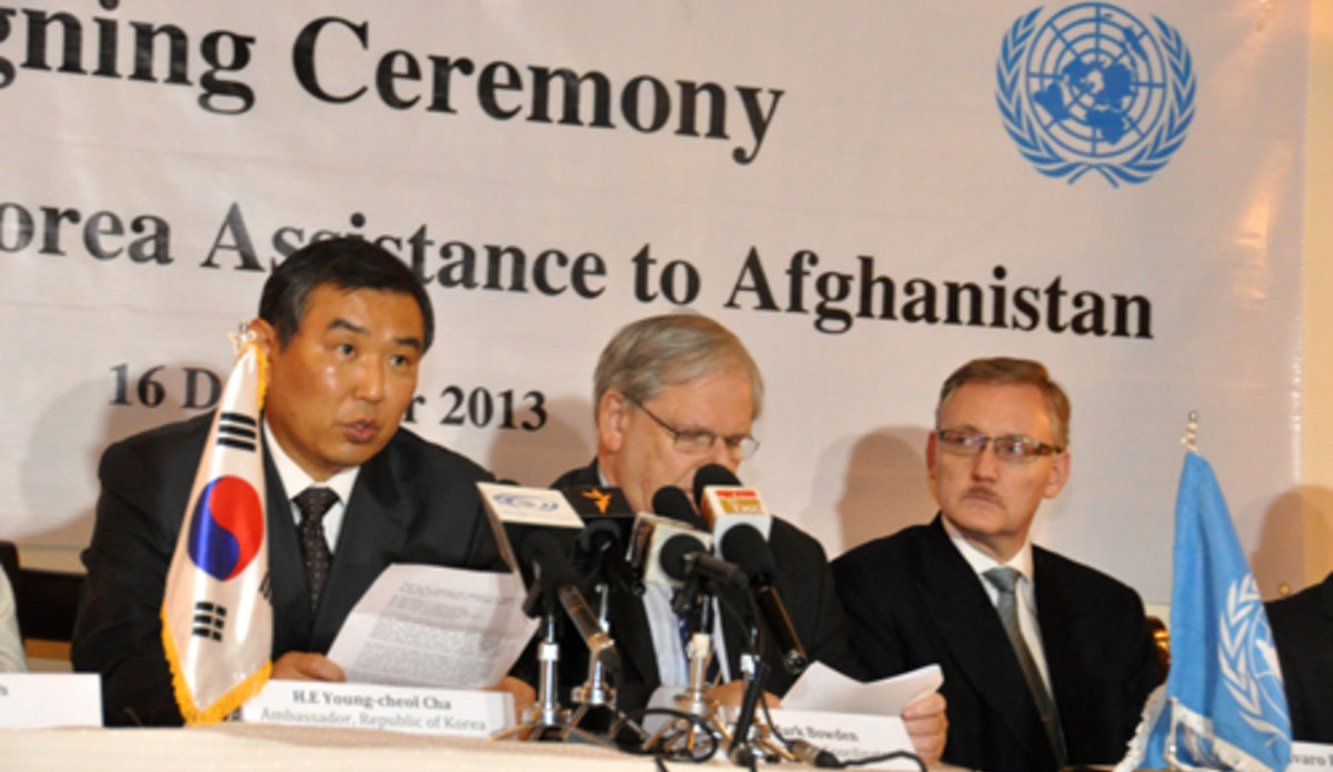 Korea pledges $43 mln for UN agencies' to improve women's