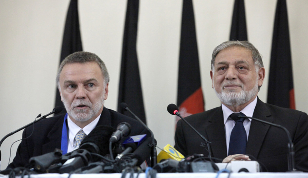 Afghan electoral body starts audit of results of