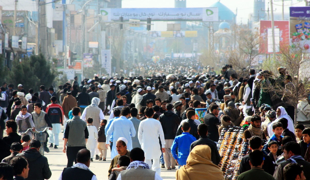 Speaking out against violent extremism, Afghans strive to create a