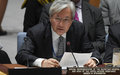 UN envoy Yamamoto at Security Council on the situation in Afghanistan
