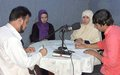 Afghan youth's role in peace spotlighted in UN-backed radio debate in Kunduz