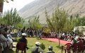 Ghor civil society, government forge ties at UN-backed event
