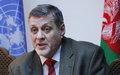 UN Special Representative Ján Kubiš's first UNAMA press conference