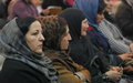 Women's role in conflict resolution the focus of new radio programme in Afghanistan's east