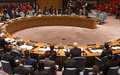 Security Council welcomes the announcement of first round results