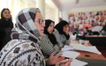 Afghan women working to make a difference in public life