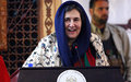 First Lady outlines contributions, potential of Afghan women