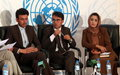 Kunduz youth and peace spotlighted in UN-backed radio programme