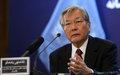 Tadamichi Yamamoto's statement on UN day