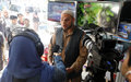 Journalists in Afghanistan's west focus on access to information, media safety