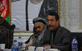 Political cooperation essential for peace, say community leaders in Afghanistan's north