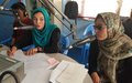 Bamyan discusses advancing women's rights and access to justice