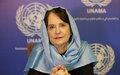 UNAMA head Deborah Lyons statement on civilian casualties