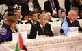 UN envoy Yamamoto at Tashkent Conference on Afghanistan