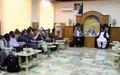 UN officials meet with Lashkar Gah leaders on local peace, development