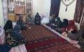 Women's voices on peace heard in Kunduz