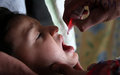 Around 8.9 million young children received anti-polio drops in UN-backed campaign