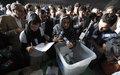 UN urges respect for continuing election audit