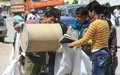 Bamyan collects recyclable trash on World Environment Day