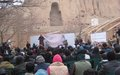 Bamyan commemorates 12th anniversary of destruction of giant Buddha statues