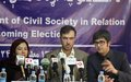 Afghan civil society demands free and fair elections in 2014