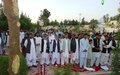 Message of peace resonates in Helmand poetry event