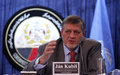 Ahead of polls, Kubiš urges Afghans to vote and responsible actions from candidates and supporters
