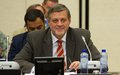 UN Special Representative Kubiš' briefing to NATO Defence Ministers meeting