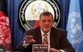 Ahead of election 'silence period,' UN envoy urges Afghans to use their right to vote