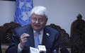 Top UN official reiterates world body's 'absolute' impartiality ahead of next week's Afghan polls