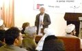 UN conducts gender equality workshop for Bamyan Mullahs