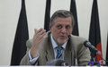UNAMA chief hails Independent Election Commission's efforts to start implementing audit plan