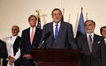 Following audit announcement, Kubiš congratulates Afghan Presidential candidates on statesmanship