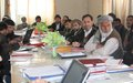 Training of trainers for spring round of polio vaccination
