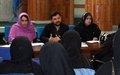 Afghan women discuss media issues in Nangarhar