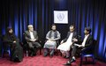Ways to improve Afghan women's access to justice debated in UN-backed TV broadcast