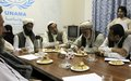 Community leaders in Afghanistan's west debate prospects for peace