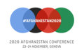Live and on-demand webcast of Afghanistan 2020 Conference, 23 - 24 November