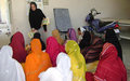 Women of Nangarhar prepare to cast their votes