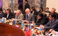 Remarks by the UN envoy Mark Bowden at G7+ summit in Kabul