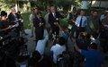 UN's Special Representative briefs media