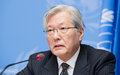 SRSG Yamamoto at the Geneva Conference on Afghanistan press conference