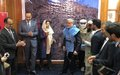 UNAMA Human Rights Chief Bell at mine action event in Kabul