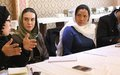 Bamyan women discuss ways to tackle workplace harassment