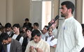 Youth role in peace & security at centre of Kunduz TV debate