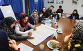 Mazar marks international literacy day with call for investment in women's education