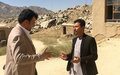 What is the UN doing to promote open media and good governance in Daikundi?